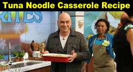 Tuna Noodle Casserole Recipe – by Michael Symon – The Chew